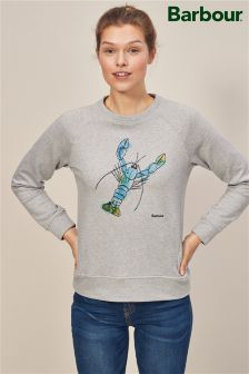 Barbour® Grey Formby Lobster Sweatshirt