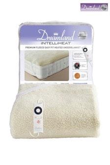 Dreamland Intelliheat Premium Fleece Easy Fit Underblanket