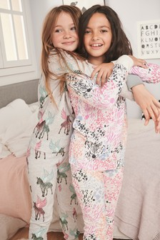 2 Pack Animal Snuggle Pyjamas (3-16yrs)