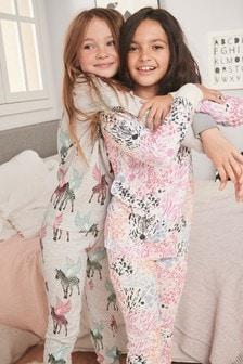 Набор из 2 уютных пижам с животными (3-16 лет)