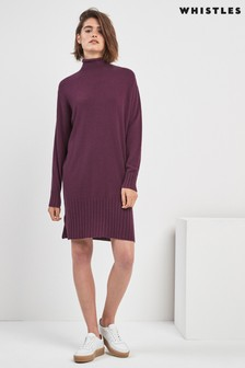 Whistles Dolman Cashmere Dress