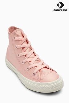 Converse Pink Metallic Chuck Hi
