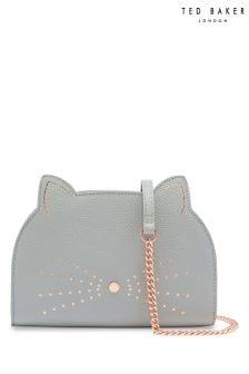 Ted Baker Kirstie Grey Cat Cross Body Bag