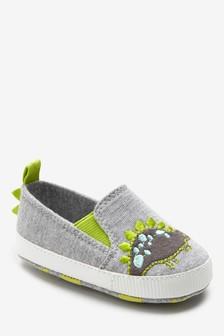 Slip-On Pram Shoes (0-24mths)