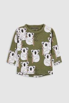 Long Sleeve Koala T-Shirt (3mths-6yrs)