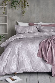 Marvelous Feathers Printed Bed Set