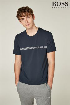 BOSS Navy Logo Tee
