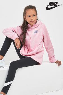Nike Pink Full Zip Hoody
