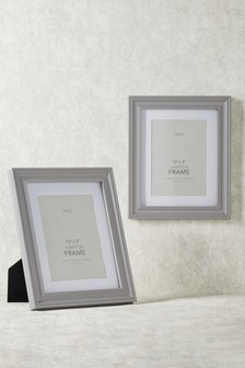 "Set of 2 Hampton 10 x 8"" (25 x 20cm) Frames"