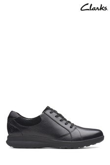 Clarks Black Un Adorn Lace Shoe