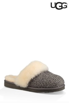 UGG® Cozy Knit Charcoal Slipper