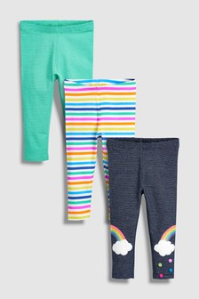 Rainbow Leggings Three Pack (3mths-6yrs)