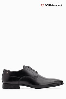 Base London® Black Lace Up Shoe