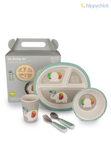 Children's Elephant Dinner Set by Hippychick