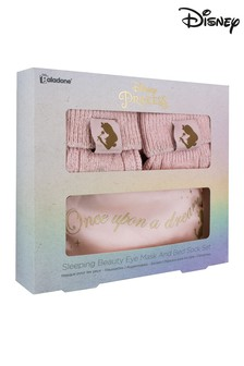 Disney™ Sleeping Beauty Eye Mask And Bed Sock Set