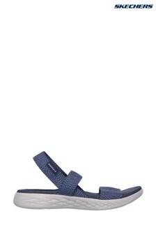 Pantofi pe gleznă Skechers® On The Go 600 Ideal albaștri