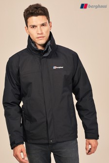 Berghaus Jet Black Alpha Gemini 3 In 1 Waterproof Jacket