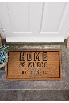 Home Is Where Gin Is Doormat