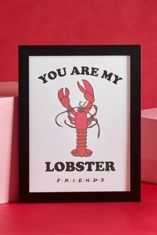 Friends Lobster Framed Print