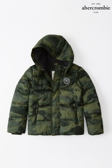 Abercrombie & Fitch Camo Padded Jacket
