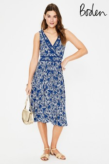 Boden Blue Lorna Jersey Dress