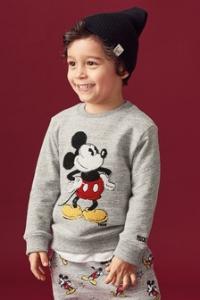 Mickey Mouse™ Bouclé Crew (3mths-6yrs)