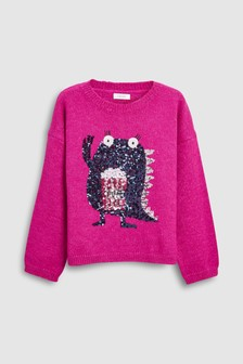 Monster Sweater (3-16yrs)
