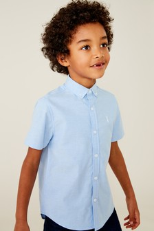 Short Sleeve Oxford Shirt (3-16yrs)