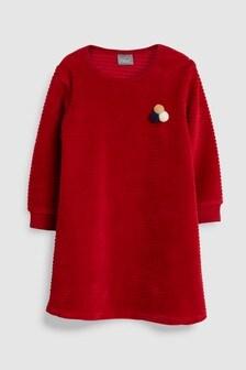 Velour Rib Dress (3mths-6yrs)