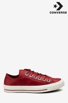 Converse Chuck Low Top Sneaker aus Leder