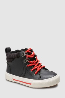 Warm Lined Skate Boots (Younger)