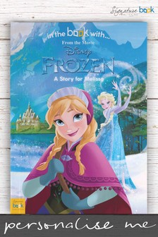Personalised Disney™ Frozen Book by Signature Book Publishing