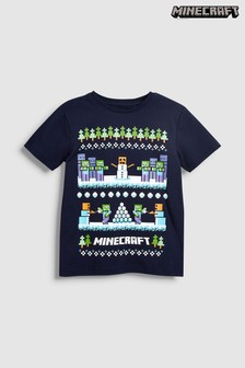 Christmas Minecraft T-Shirt (4-14yrs)