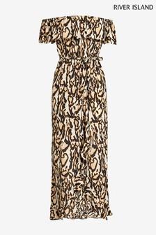 982d4a61932 River Island Bardot Maxi Dress