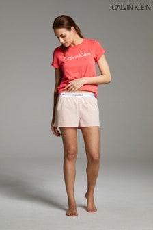 Calvin Klein Lounge Woven Sleep Shorts