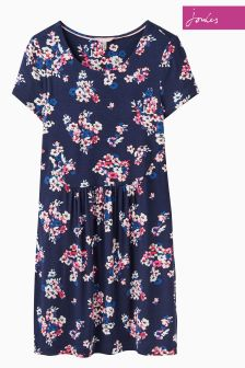 Joules French Navy Wallflower Ditsy Madison Tunic