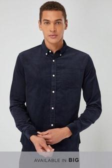 חולצת קורדרוי עם שרוולים ארוכים