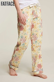 FatFace Yellow Spring Bloom Classic Lounge Pants