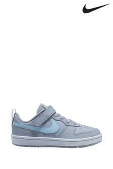 Nike Grey Court Borough Low Junior Trainers