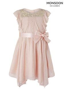 cb7ecb088ba Monsoon Baby Olenya Schimmerndes Kleid