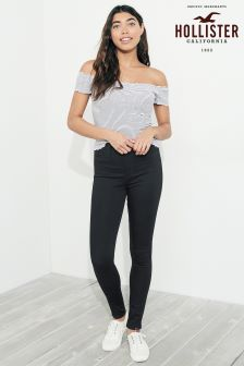 Hollister Black High Waist Skinny Jean