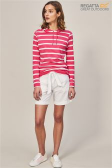 Regatta White Samarah Short Short