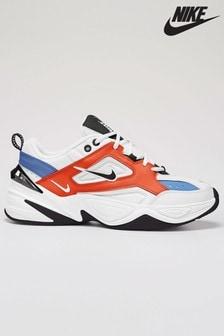 Nike White/Red M2K Tekno