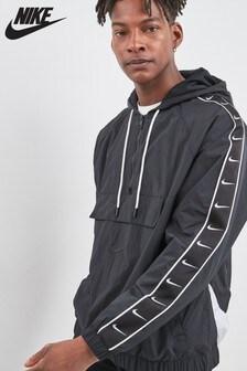 Nike Black Swoosh Woven Jacket