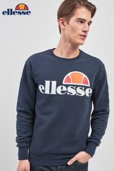 Ellesse™ Heritage Navy Succiso Logo Crew