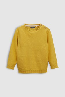 Star Roll Neck Jumper (3mths-6yrs)
