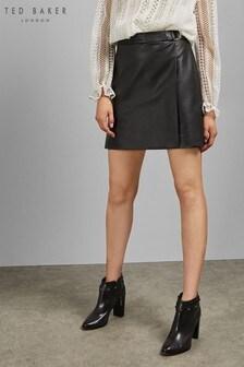 Ted Baker Black Ring Detail Skirt