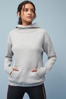 Longline Cowl Sweatshirt