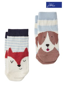 Joules Neat Feet Character Sock 2 Pack