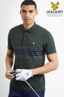 Lyle & Scott Golf Plus Stripe Polo